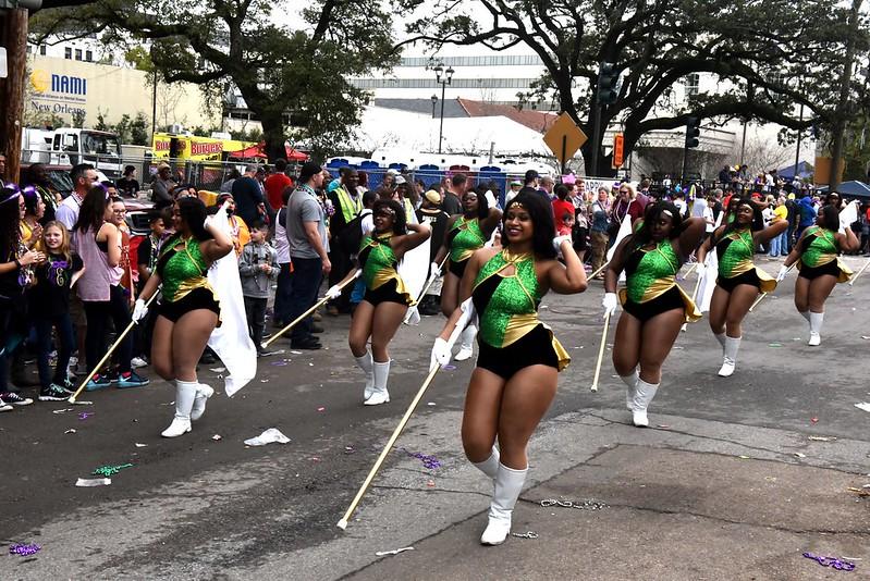 Krewe of Iris Mardi Gras parade 2018