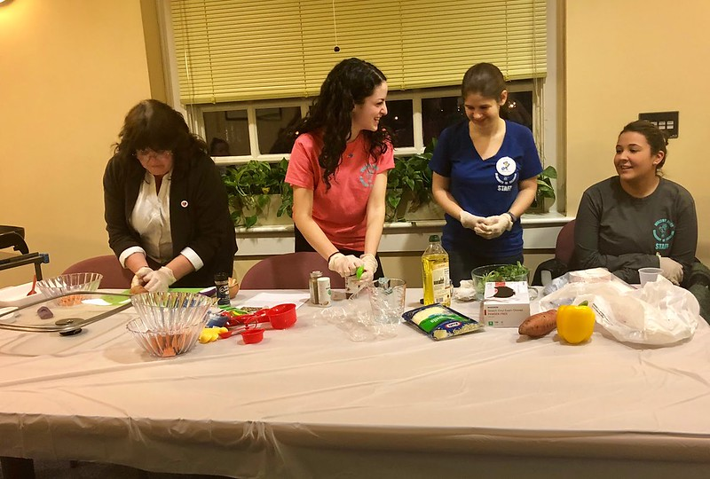 Healthy Hens: Teaching students how to cook quick and healthy meals