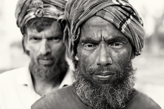 Bangladesh, brick field workers