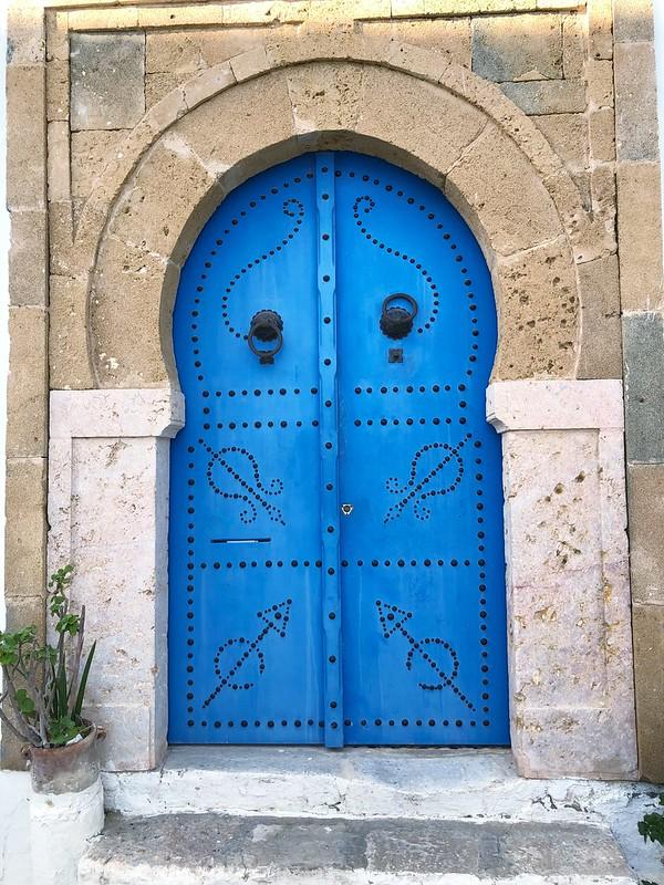 Sinivalkoinen Sidi Bou Said