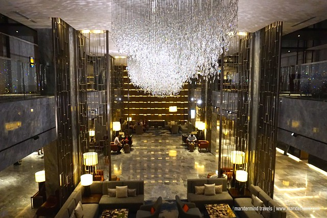 Main Lobby of Hilton Kota Kinabalu