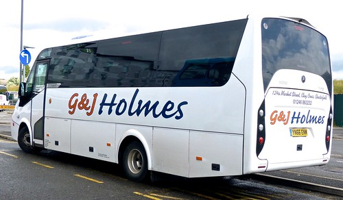 YN66 ENM 'G&J Holmes', Clay Cross, Derbyshire. Mercedes-Benz 921L / Turas 900 /2 on Dennis Basford's railsroadsrunways.blogspot.co.uk