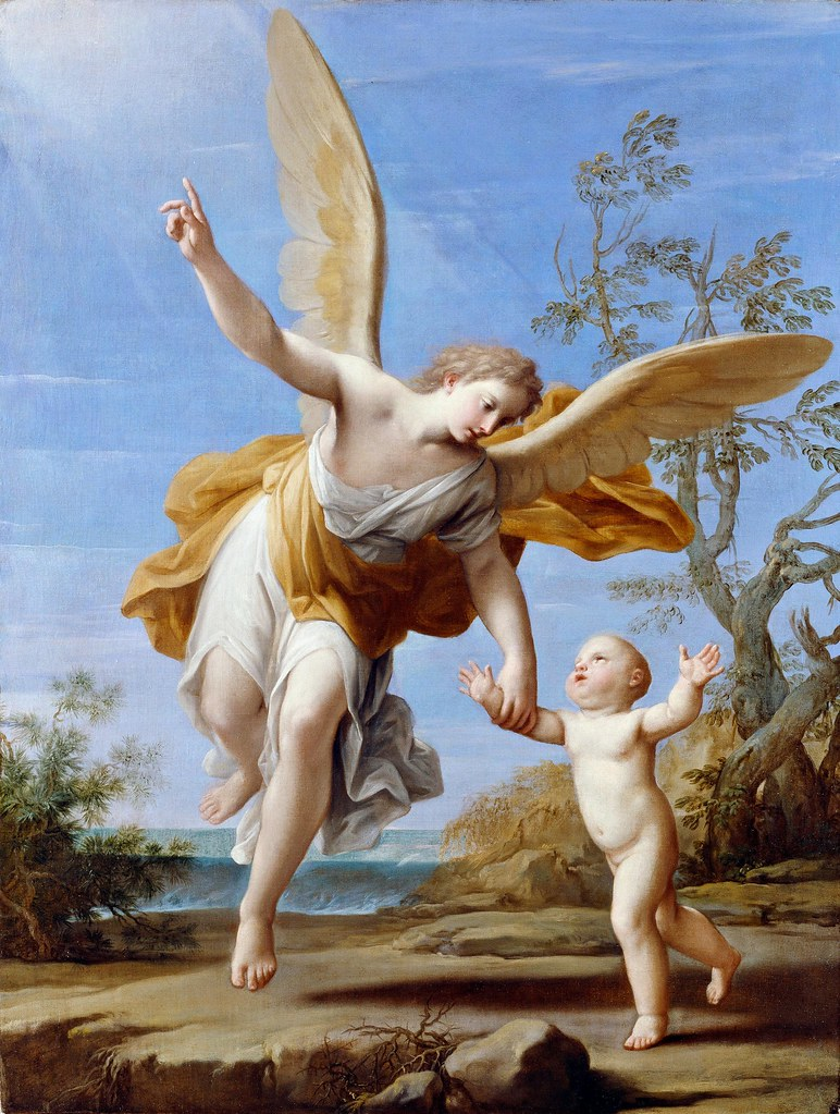 Marcantonio Franceschini - The Guardian Angel (1716)