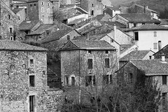 Old town in Olargues