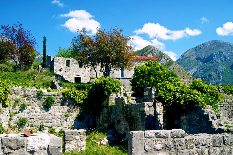 Вид из центра на верхнюю часть Старого города