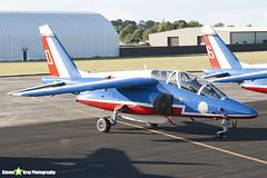 E134 0 F-TERM - E134 - Patrouille de France - French Air Force - Dassault-Dornier Alpha Jet E - RIAT 2010 Fairford - Steven Gray - IMG_7361