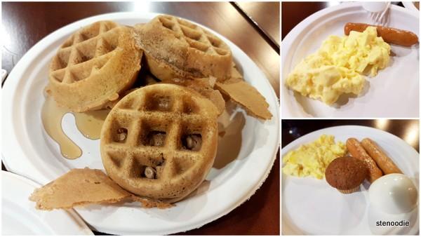 breakfast at comfort inn