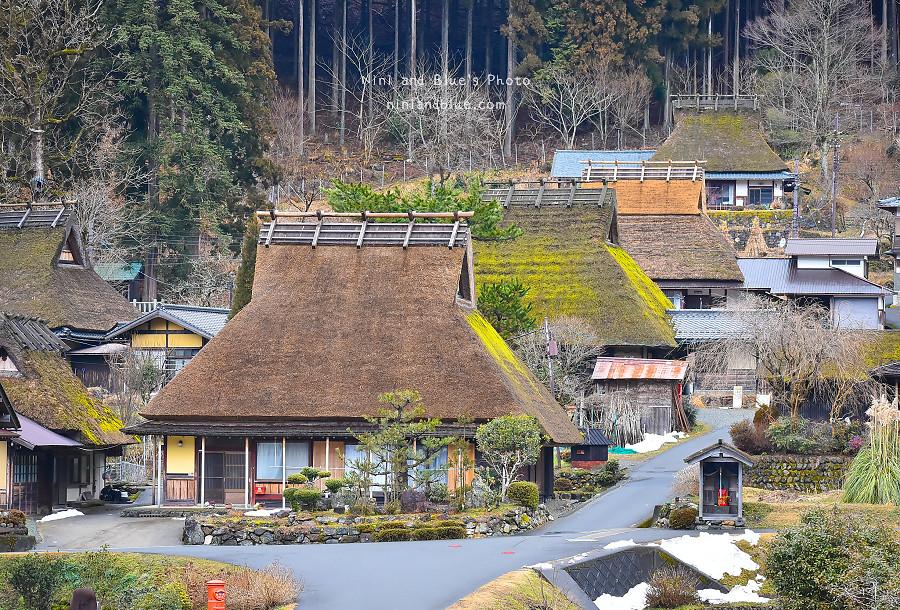 日本京都 美山 茅草屋 交通 巴士09