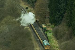 20170330-10_Steam Train at Newtondale Halt on NYMR