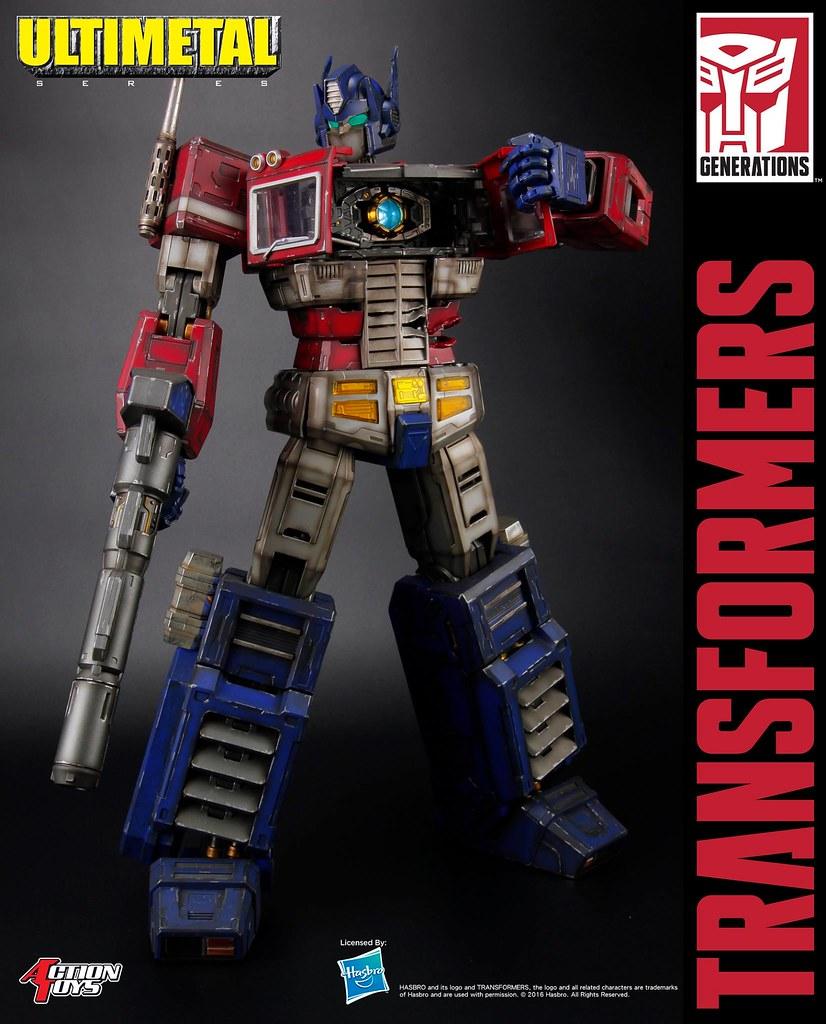 逼真舊化和精密機械結構令人大呼過癮!!Action Toys Ultimetal 系列《變形金剛》柯博文 戰損版 Optimus Prime Battle Damaged