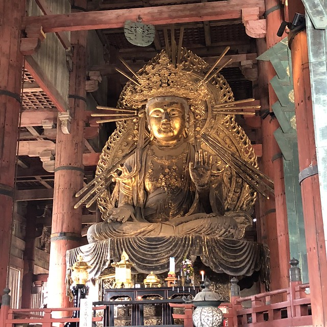 Another massive shrine in Tōdai-ji Temple