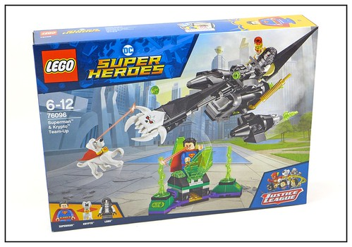 LEGO DC SuperHeroes 76096 Superman & Krypto Team-Up 01