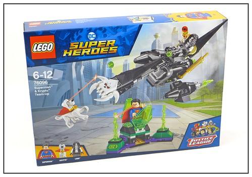 LEGO DC SuperHeroes 76096 Superman & Krypto Team-Up 01
