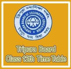 tripura higher secondary routine