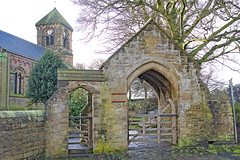 Lych Gate, St Mary & St Michael, Whitley Lower, Kirklees, Dewsbury