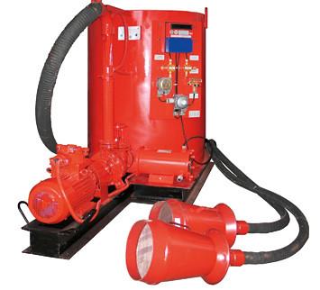 Установка автоматическая пенного пожаротушения УАПП -1Р