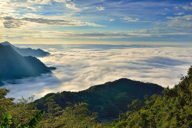 Sea of clouds at Xi Din, 隙頂雲海