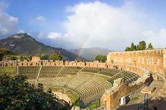 Rainbow at the Theater