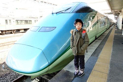 足湯新幹線