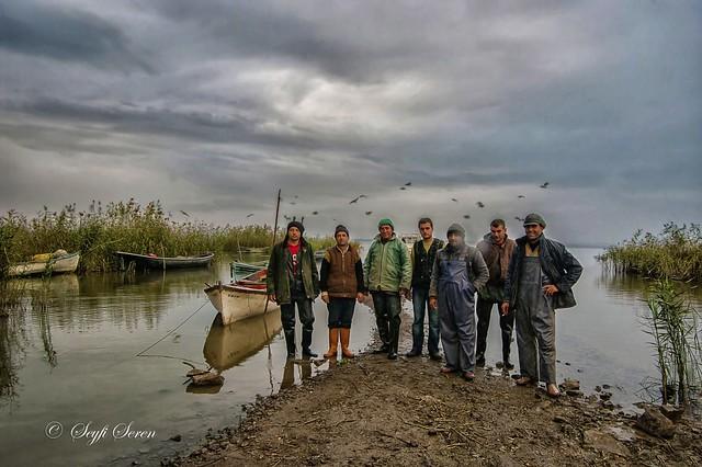 Manyas Gölü Balıkçıları . . .