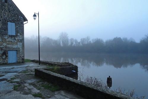 Sur les rives de la Dordogne