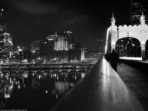 Shadowy Figures on a Bridge (Flickr Explore 2/23/2018)