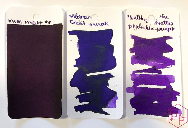 Ink Shot Review KWZI IG Violet #3 @BureauDirect 3