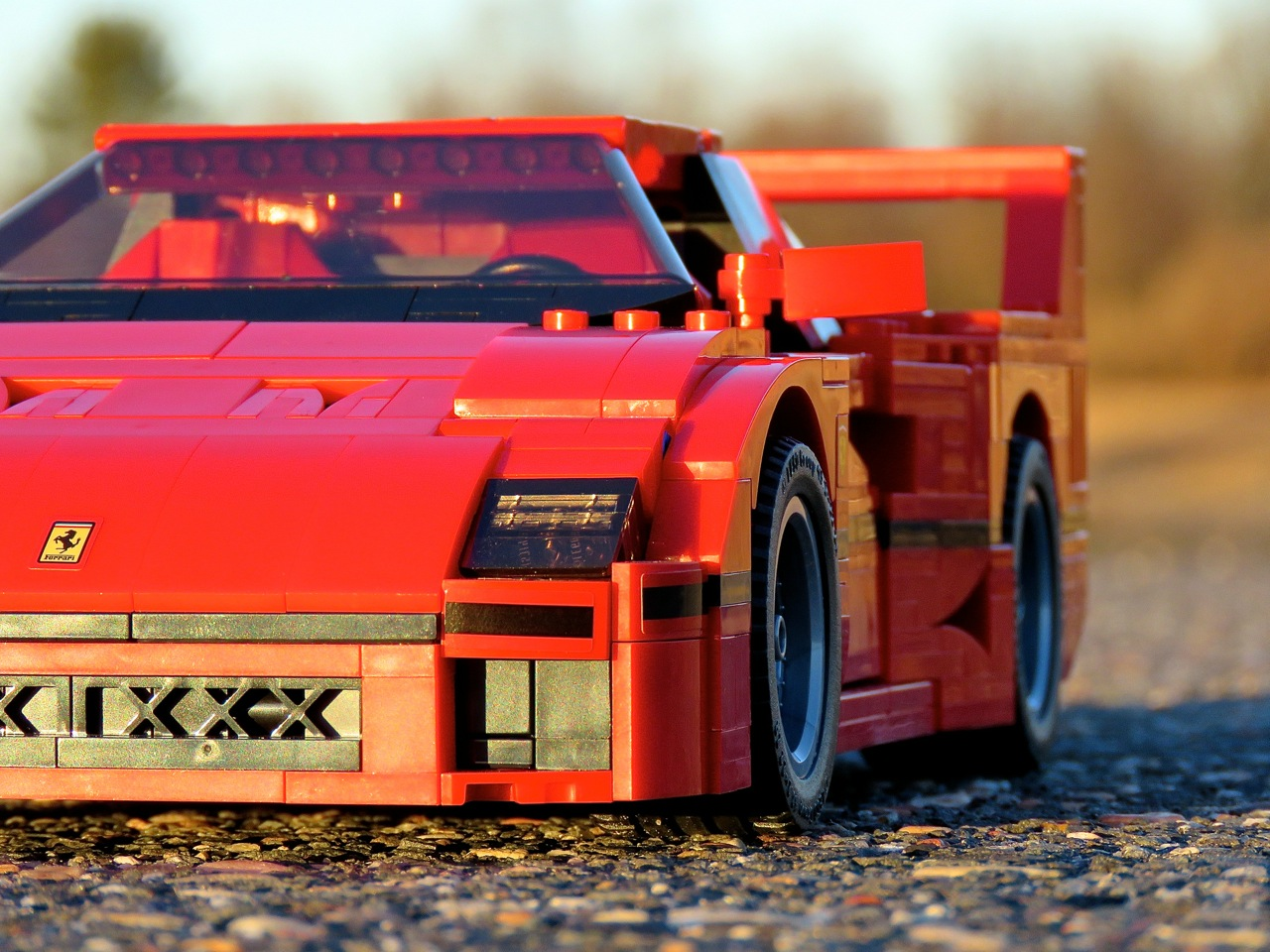 Lego Ferrari F40 8
