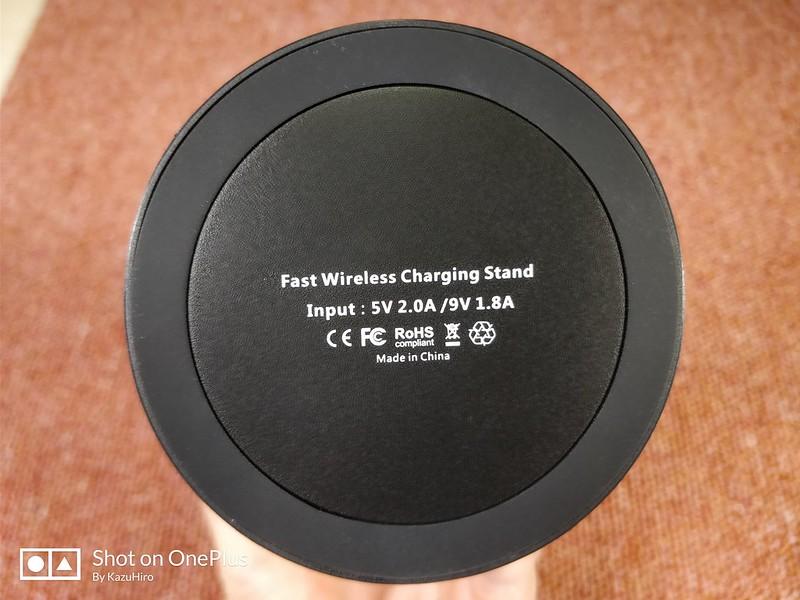 EnacFire Qi ワイヤレス充電器 開封レビュー (17)
