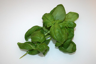 03 - Zutat Basilikum / Ingredient basil