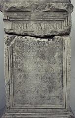 Pedestal de estatua de Septimio Severo