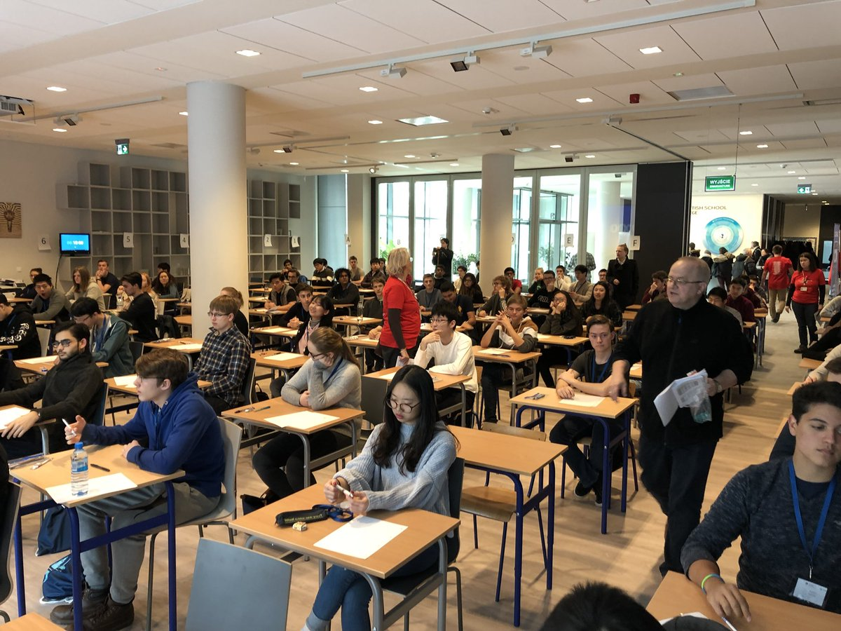 ISMTF Maths Competition Warsaw