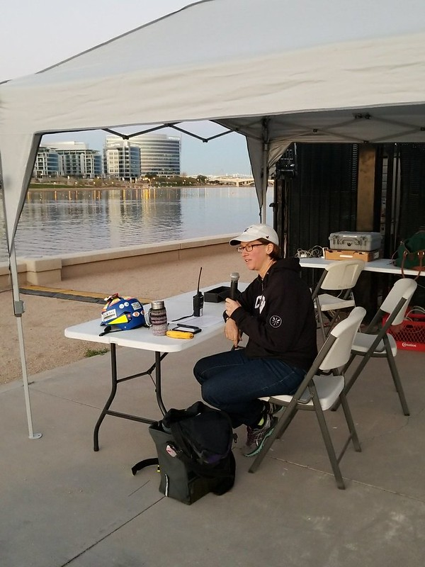 Desert Sprints Regatta announcer