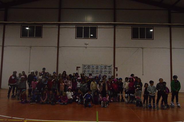 130 Patinadores se concentraron  en el Encuentro Provincial de Patinaje JUDEX 2018