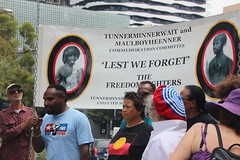 West Papuans at Commemoration of Tunnerminnerwait and Maulboyheener - IMG_2804