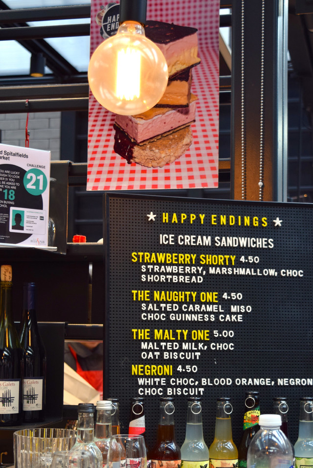 Happy Endings at The Kitchen at Old Spitalfields Market #happyendings #dessert #streetfood #london #spitalfields