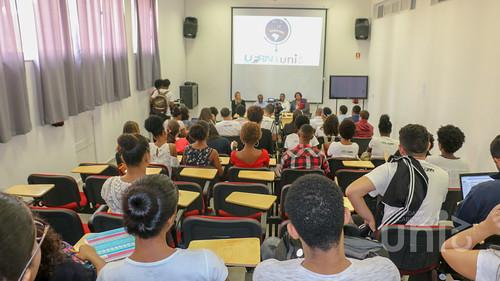 Estudantes de Medicina da Universidade Federal do Rio Grande do Norte em intercâmbio na Uni-CV