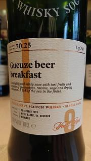 SMWS 70.25 - Gueuze beer breakfast