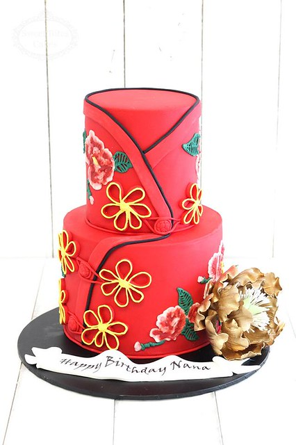 Chinese Fashion by Sweet Bites Cakes