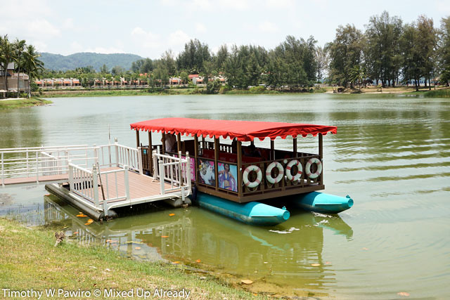 angsana laguna phuket the lagoon and the shuttle boat - mixedupalready