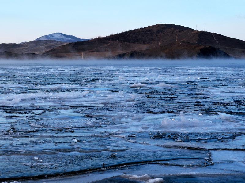 Lago-Baikal-Helado