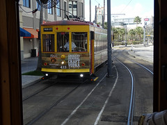 Tampa Bay (Hillsborough Area Regional Transit Authority) HART TECO Line  Gomaco Replica Birney Trolley 433 Car