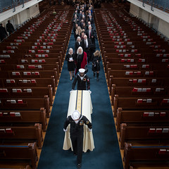 Bruce McCandless Funeral Service (NHQ201801160016)