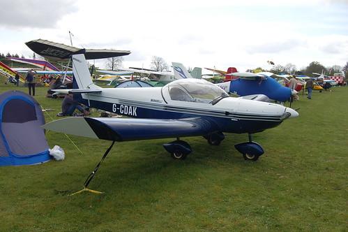 G-CDAK Zenair CH.601 [PFA 162A-14210] Popham 020509