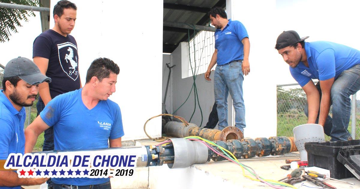 Amplían servicio de agua potable en San Antonio