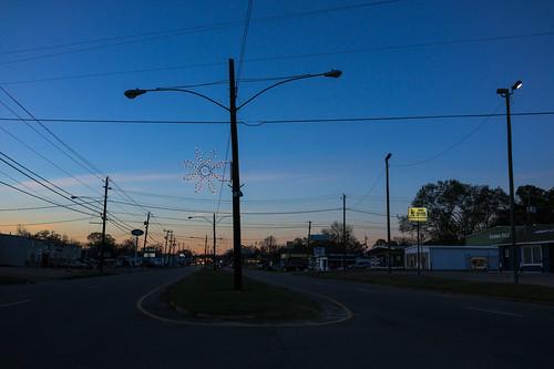 sunset, Prattville, Alabama