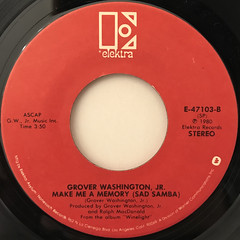 GROVER WASHINGTON JR.:JUST THE TWO OF US(LABEL SIDE-B)