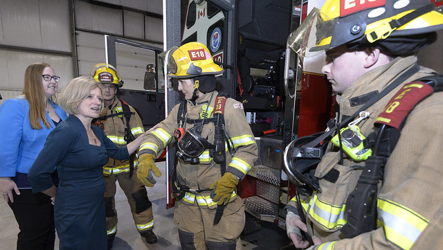 New cancer supports for Alberta firefighters