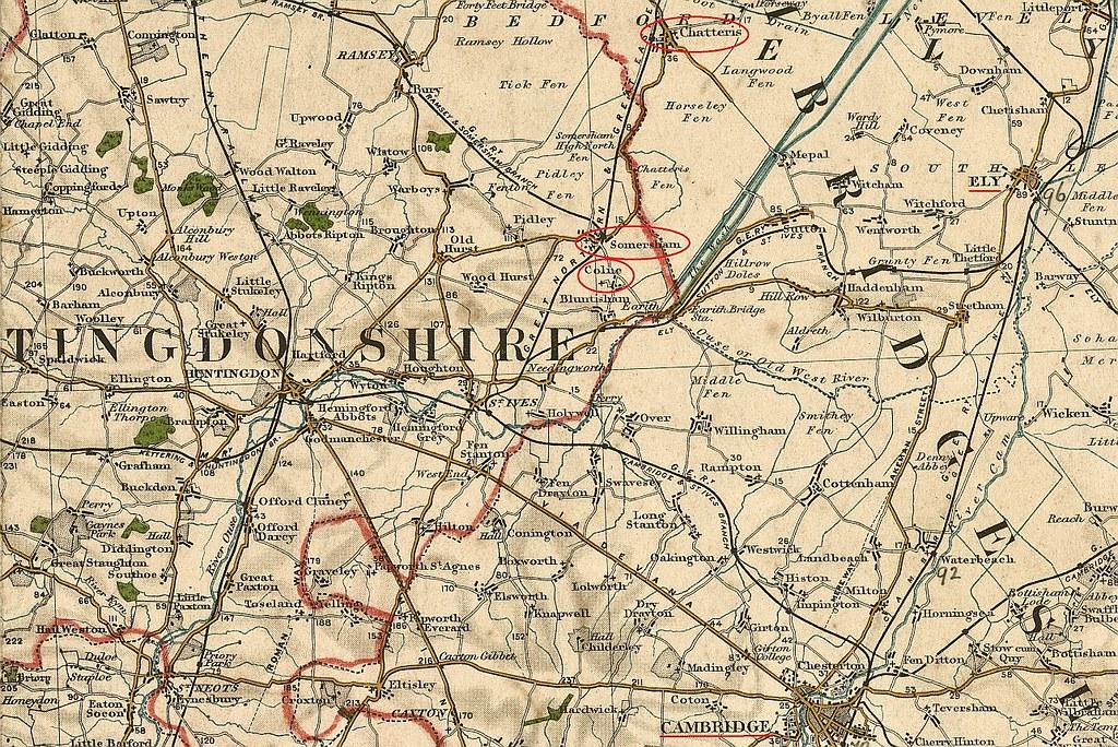 OS map 16 1903