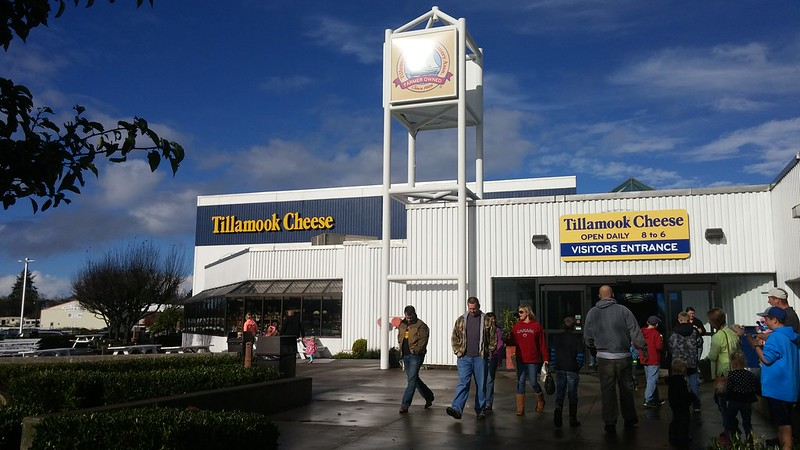Tillamook Cheese, Tillamook, OR